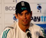 Alastair Cook's press conference