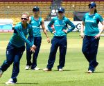England women's team - practice session