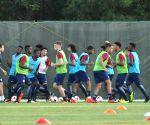 FIFA U17 WC - England practice season