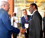 Malabo (Equatorial Guinea): Ram Nath Kovind, Equatorial Guinea President at Presidential Palace