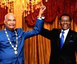 Malabo (Equatorial Guinea): President Kovind honored by Equatorial Guinea President