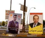 IRAQ KURDISTAN ELECTIONS CAMPAIGN