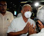Kolkata : Ex-Goa CM Luizinho Faleiro arrived at NSCBI Airport