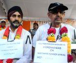 Ex-servicemen go on fast unto death to press for OROP