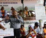 Ex-servicemen's demonstration to press for OROP