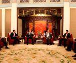 S Jaishankar meets Chinese Vice President Wang Qishan