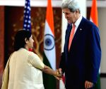 Sushma Swaraj-John Kerry meeting