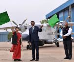 Sushma Swaraj hands over Dornier aircraft to Seychelles President