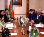 Baku (Azerbaijan): Sushma Swaraj meets Azerbaijan's Foreign Minister