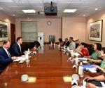 Sushma Swaraj meets Moldovean Foreign Affairs Minister