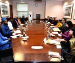 Sushma Swaraj meets Nigeria President special envoys