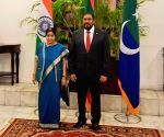 Male (Maldives): Sushma Swaraj meets Maldives Parliament Speaker
