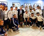 ARGENTINA EZEIZA WORLD CUP MACRI