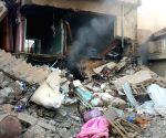 IRAQ FALLUJAH BOMBARDMENT