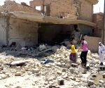 IRAQ FALLUJAH BOMBARDMENT