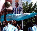 Argentine football team fans