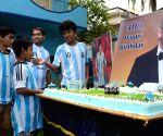 Messi's fans celebrate his 30th birthday
