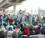Farmers from Punjab and Haryana continue to protest for the seventh consecutive day at Tikri Border