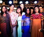 Acid attack survivors walk the ramp for designer Agnimitra Paul