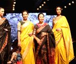 Lotus Make-up India Fashion Week - Collections from 'Naturally Anuradha' showcased