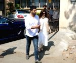 Funeral of Manish Malhotra's father