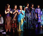 Lotus Make-up India Fashion Week - Sharmila Tagore, Soha Ali Khan walk for Sanjukta Dutta