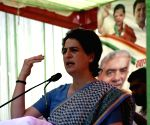 BJP obsessed with my family, says Priyanka