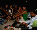Femina Miss India participants at village theme bash at Sahara Star.