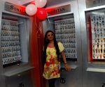 "Film Actress June Mallya opened ""World of Titan Showroom"" in South Kolkata on Sunday 12th April 2009."