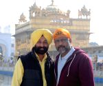Anubhav Sinha at Golden Temple