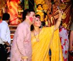 Celebs during Vijayadashami celebrations