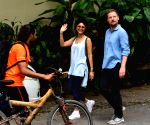 Kiran Rao seen at Bandra