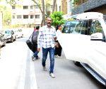 Nagraj Manjule seen at Aamir Khan's residence