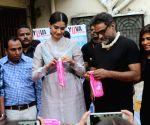 "Promotion of film ""PadMan"" - R. Balki and Sonam Kapoor"