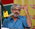 Promotion of film Bajirao Mastani at Radio Mirchi Studio