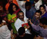 Celebs at Lalbaucha Raja Ganesh mandal