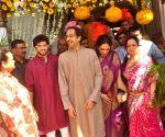 Smita Thackeray's son Rahul Thackeray wedding ceremony