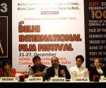 Filmmaker Tigmanshu Dhulia during a press conference to announce 2nd Delhi International Film Festival