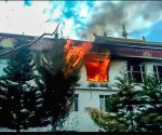 Major fire at Buddhist monastery in Himachal