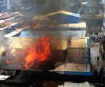 Fire at furniture workshop