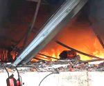 Fire breaks out in coconut oil factory