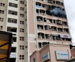 Free Photo:  Gurugram: Fire breaks out in DLF phase-4 building, no casualties reported