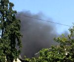 Fire at Charkop Industrial Estate