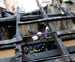 Fire breaks out at a Matunga slum
