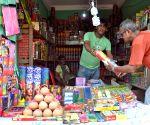 Firecrackers shops ahead of Diwali