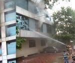 Fire breaks out at Hyderabad building
