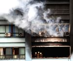 Fire in Kolkata building