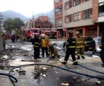 COLOMBIA BOGOTA ACCIDENT EXPLOSION