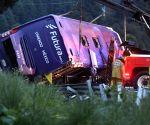 MEXICO TOLUCA BUS CRASH