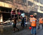 Bagree market blaze - Firefighting operations underway